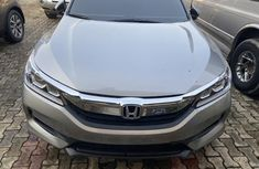 Foreign Used Honda Accord 2017 Model Silver