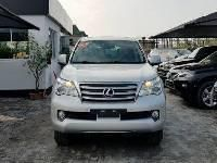 Foreign Used Lexus GX 2010 Model Silver