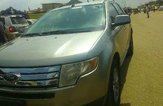 Foreign Used Ford Edge 2008 Model Silver