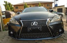 Clean Foreign used Lexus IS300 2010 Model