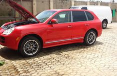 Foreign Used Porche Cayenne 2006 Model Red for Sale