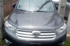 Foreign Used Toyota Highlander 2012 Model Gray