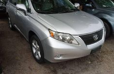 Foreign Used Lexus RX 2012 Model Silver