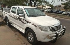 Nigeria Used Toyota Hilux 2012 Model White