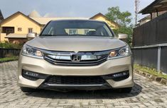 Nigeria Used Honda Accord 2015 Model Gold