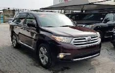 Foreign Used Toyota Highlander 2011 Model
