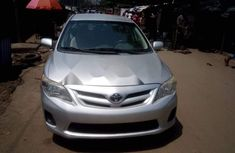 Foreign Used Toyota Corolla 2012 Model Silver