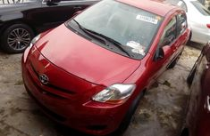 Foreign Used Toyota Yaris 2013 Model Red