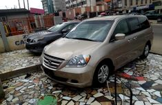 Foreign Used Honda Odyssey 2006 Model Gold