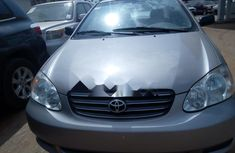 Foreign Used Toyota Corolla 2003 Model Gold