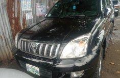 Nigeria Used Toyota Land Cruiser Prado 2009 Model Black
