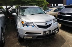 Foreign Used Acura MDX 2015 Model Silver