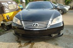 Nigeria Used Lexus ES 350 V6 2011 Model Black