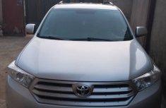 Nigerian used Toyota Highlander SUV 2012 Model