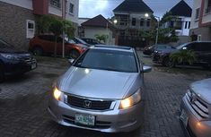Nigeria Used Honda Accord 2008 Model Silver for Sale