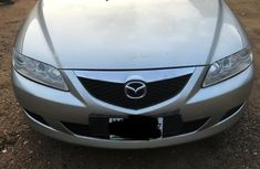 Nigeria Used Mazda MS-6 2004 Model Silver for Sale