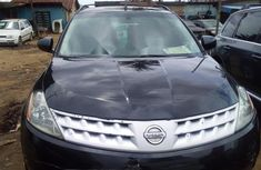 Foreign Used Nissan Murano 2007 Model Black