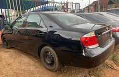Foreign Used Toyota Camry 2005 Model Black