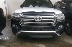 Foreign Used Toyota Land Cruiser 2019 Model Black