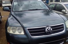 Foreign Used Volkswagen Touareg 2005 Model Blue