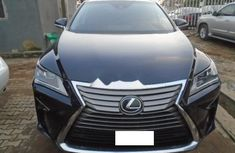 Nigeria Used Lexus RX 2017 Model Blue