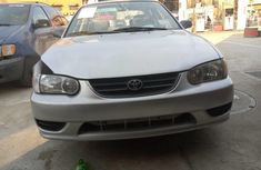 Foreign Used Toyota Corolla 2000 Model Beige