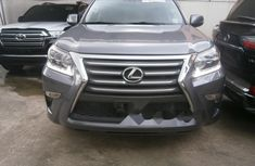 Foreign Used Lexus GX 2015 Model Gray