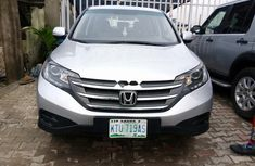 Nigeria Used Honda CR-V 2012 Model Silver
