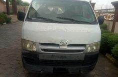 Foreign Used Toyota HiAce 2007 Model White