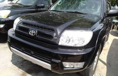 Foreign Used Toyota 4-Runner 2005 Model Black