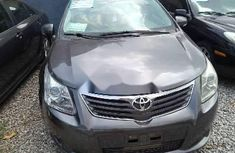 Nigeria Used Toyota Avensis 2010 Model Gray