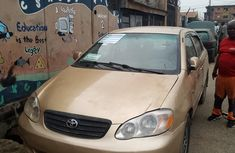 Nigeria Used Toyota Corolla V4 2004  Model Gold