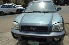 Nigeria Used Hyundai Santa FE 2003 Model Green