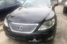 Foreign Used Lexus LS 2008 Model Black