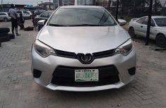 Nigeria Used Toyota Corolla 2014 Model Silver