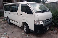 Nigeria Used Toyota HiAce 2010 Model White
