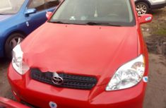 Foreign Used Toyota Matrix 2006 Model Red