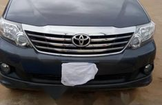 Nigeria Used Toyota Fortuner 2013 Model Gray