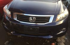 Foreign Used Honda Accord 2010 Model Blue