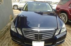 Very Clean Nigerian used Mercedes-Benz E350 2012