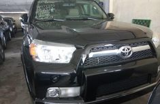 Nigeria Used Toyota 4-Runner 2011 Model Black