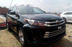 Foreign Used Toyota Highlander 2016 Model Black