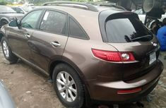 Foreign Used Infiniti FX35 2007 Model Brown for Sale