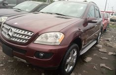 Foreign Used Mercedes Benz ML350 2008 Model Beige
