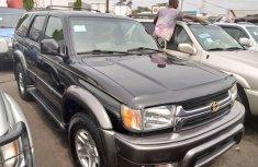 Foreign Used Toyota 4-Runner 2002 Model Black for Sale