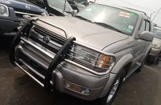 Foreign Used Toyota 4-Runner 2002 Model Silver for Sale