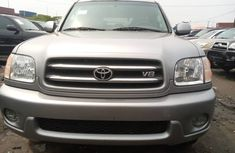 Foreign Used Toyota Sequioa 2004 Model Limited