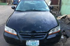 Nigeria Used Honda Accord 2002 Model Black