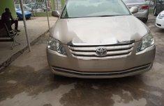 Nigeria Used Toyota Avalon 2007 Model Gold