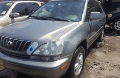 Foreign Used Lexus RX 2002 Model Gold